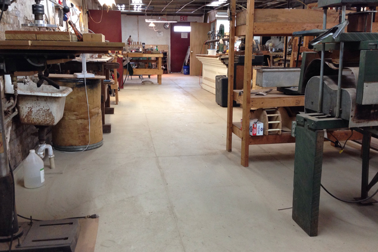New Shop Floor
