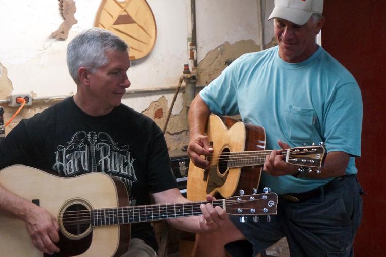 Custom Sassafras Guitars