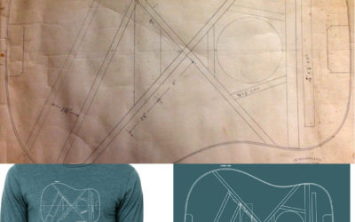 Long Sleeve Blueprint Tees