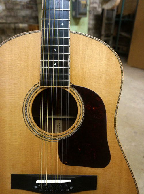 Custom Mahogany 12-string